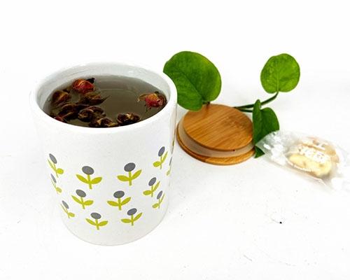 木盖陶瓷杯