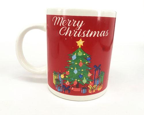 圣诞树陶瓷杯