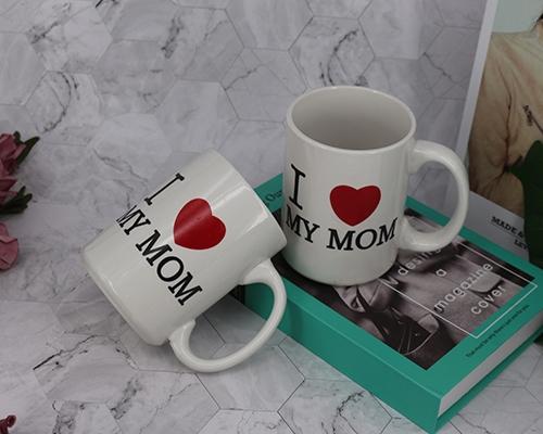 母亲节爱心水杯